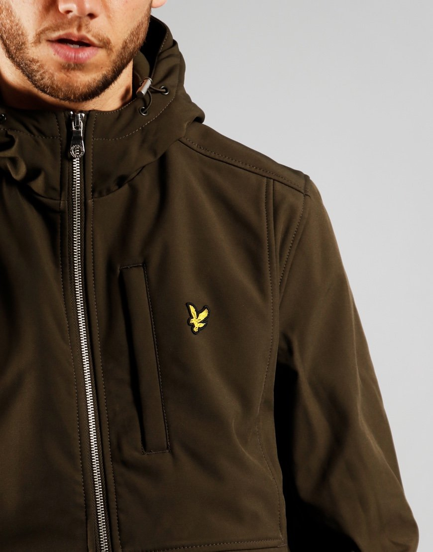 Lyle & Scott Softshell Jacket Trek Green