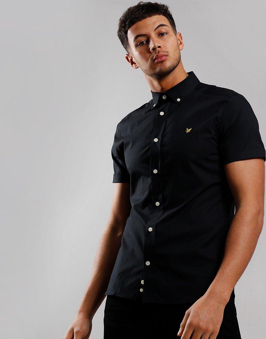 Lyle & Scott Slim Poplin Shirt True Black
