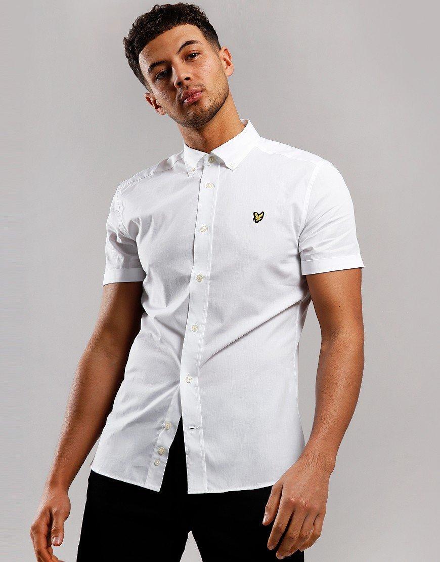 Lyle & Scott Slim Poplin Shirt White
