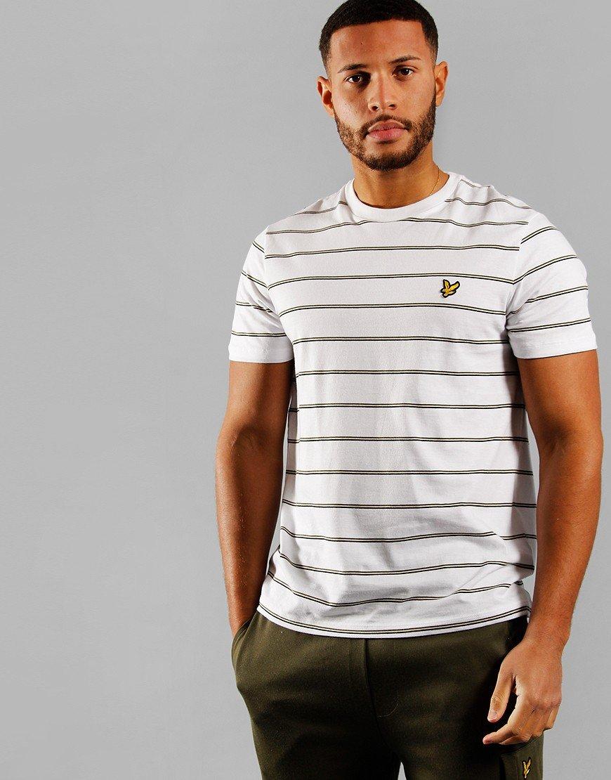 Lyle & Scott Stripe T-Shirt White