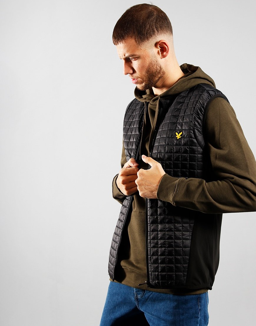 Lyle & Scott Terrain Gilet True Black