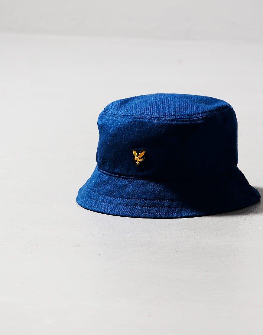 Lyle & Scott Twill Bucket Hat Indigo