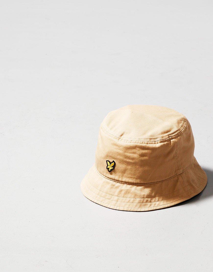 Lyle & Scott Twill Bucket Hat Sand Stone