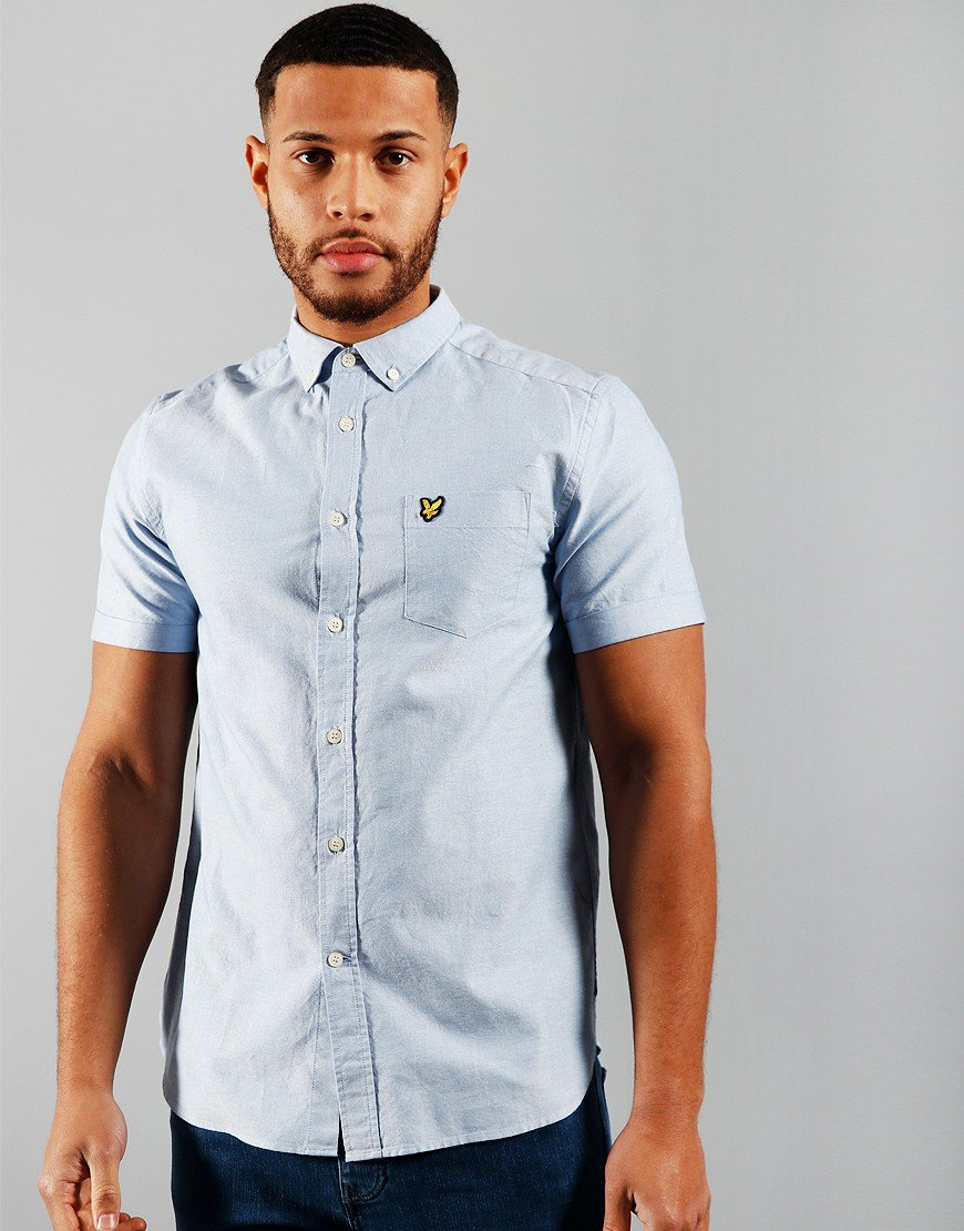 Lyle & Scott Oxford Shirt Riviera