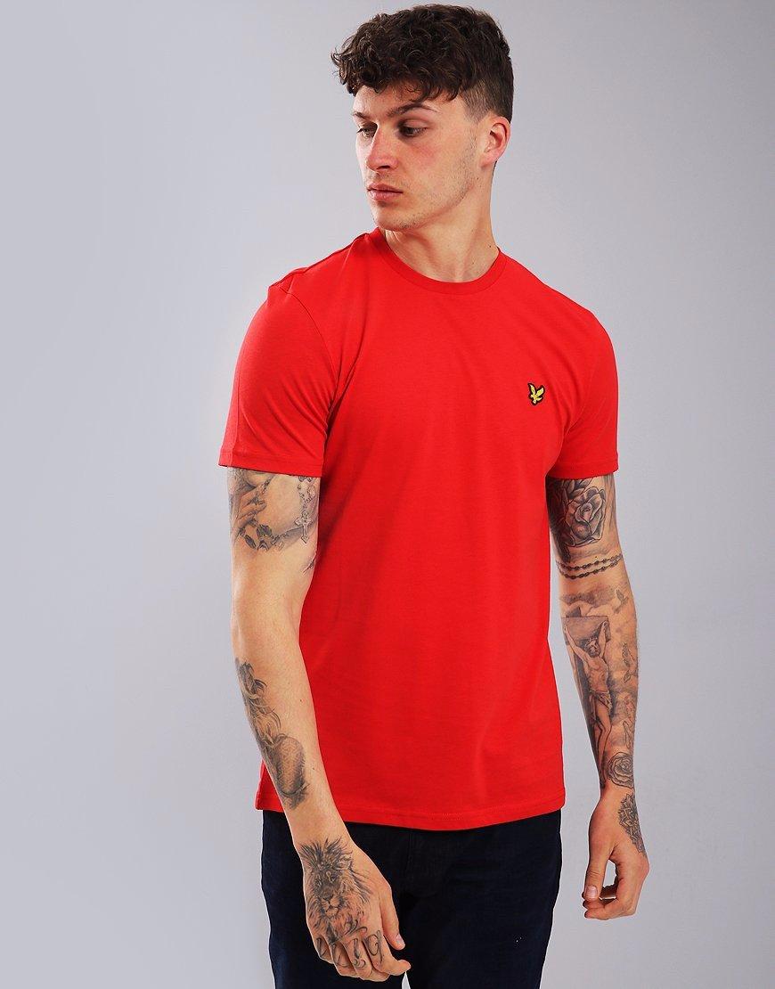 Lyle & Scott Plain T-Shirt Grenadine Red