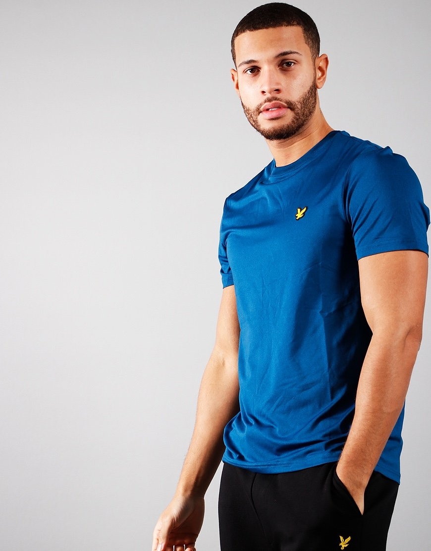 Lyle & Scott Eagle Trail T-Shirt Deep Fjord Marl