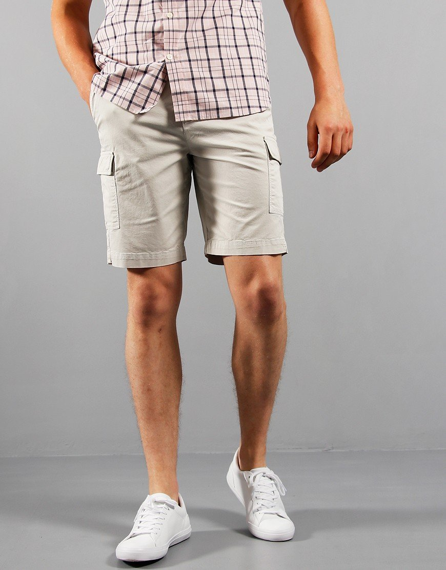 Lyle & Scott Cargo Shorts Glacier Grey