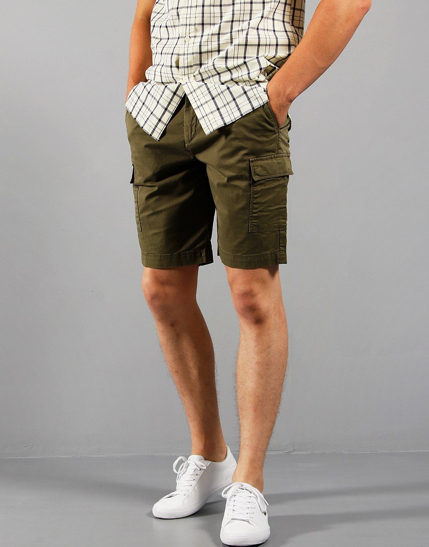 Lyle & Scott Cargo Shorts Lichen Green