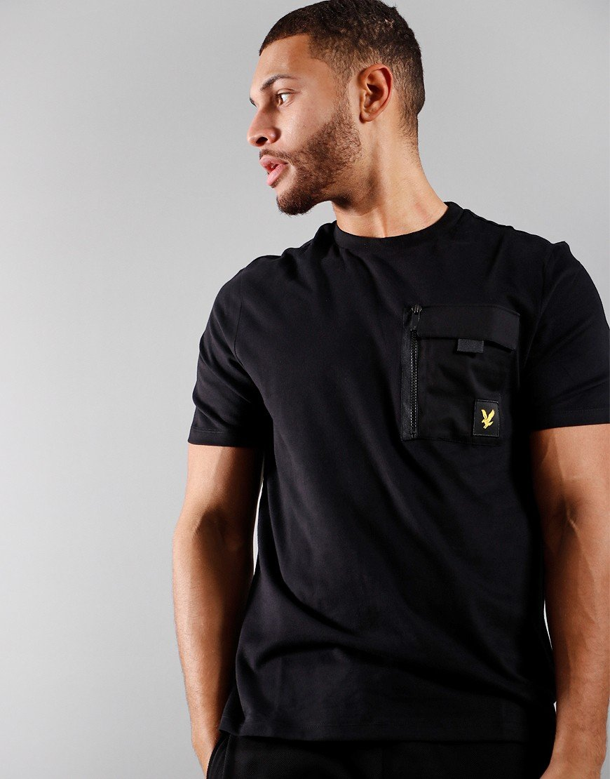 Lyle & Scott Chest Pocket T-Shirt Black
