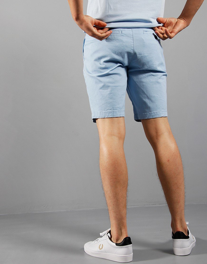 Lyle & Scott Chino Shorts Pool Blue