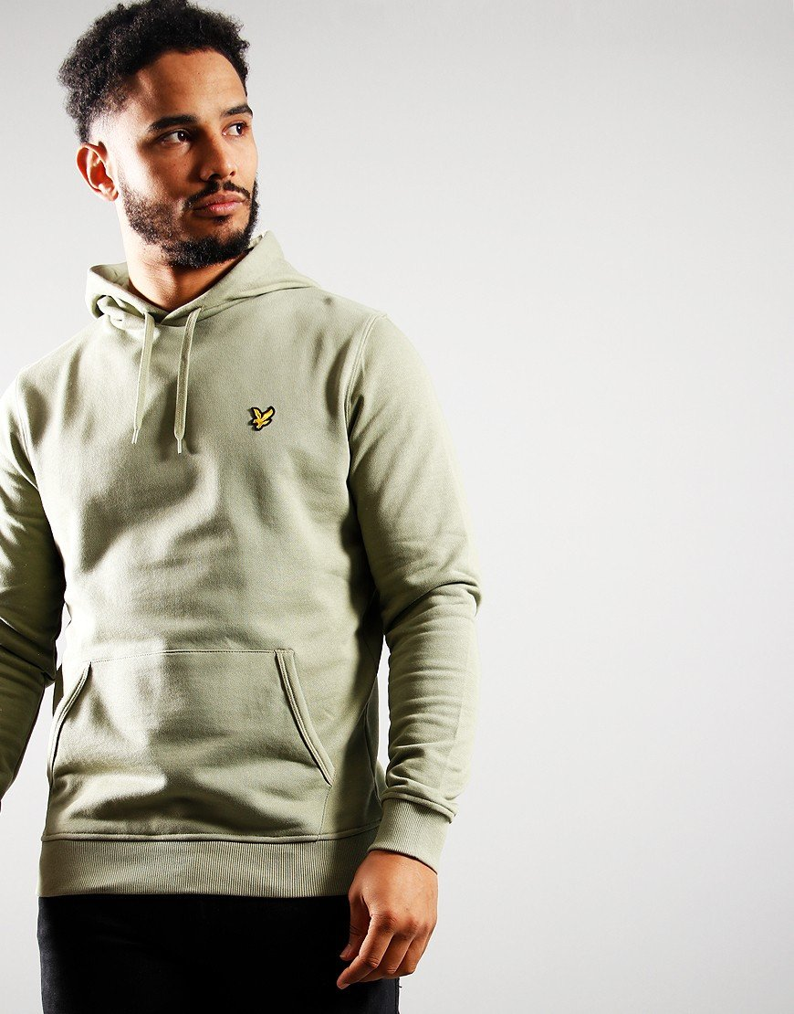 Lyle & Scott Pullover Hoodie Moss
