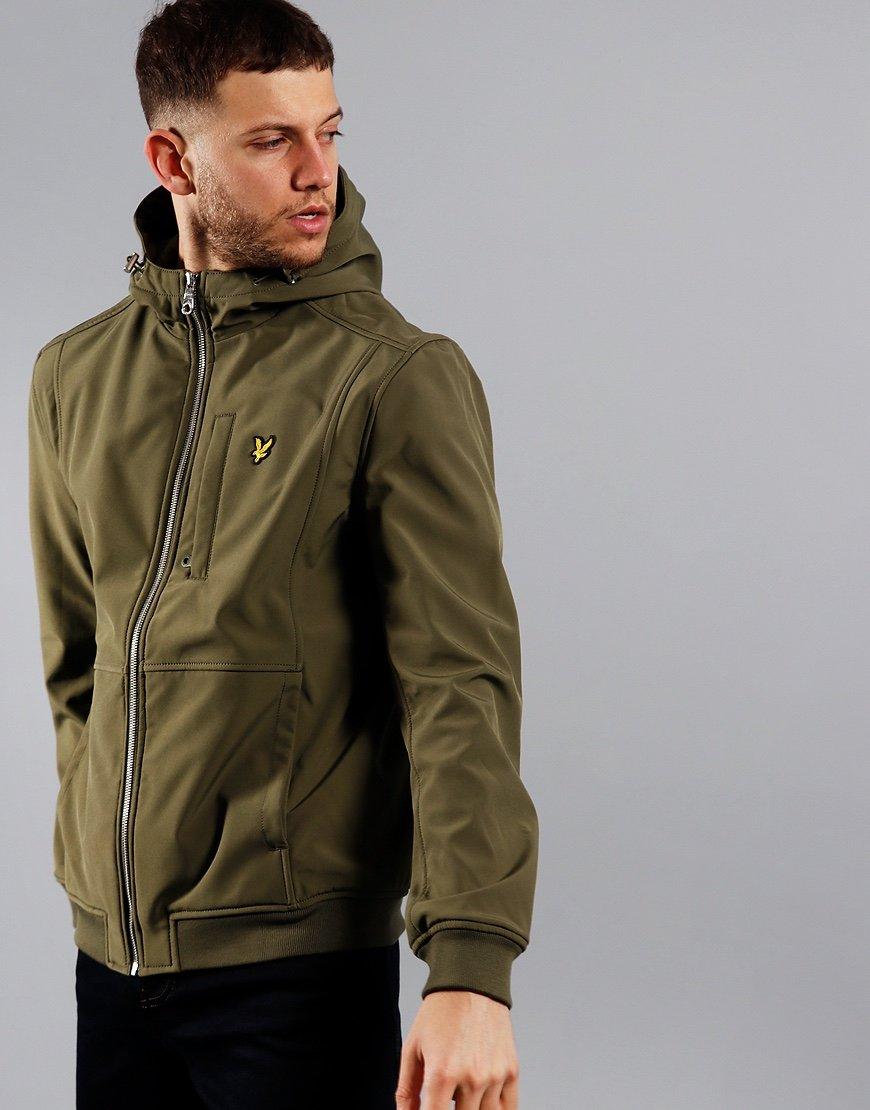Lyle & Scott Softshell Jacket Lichen Green