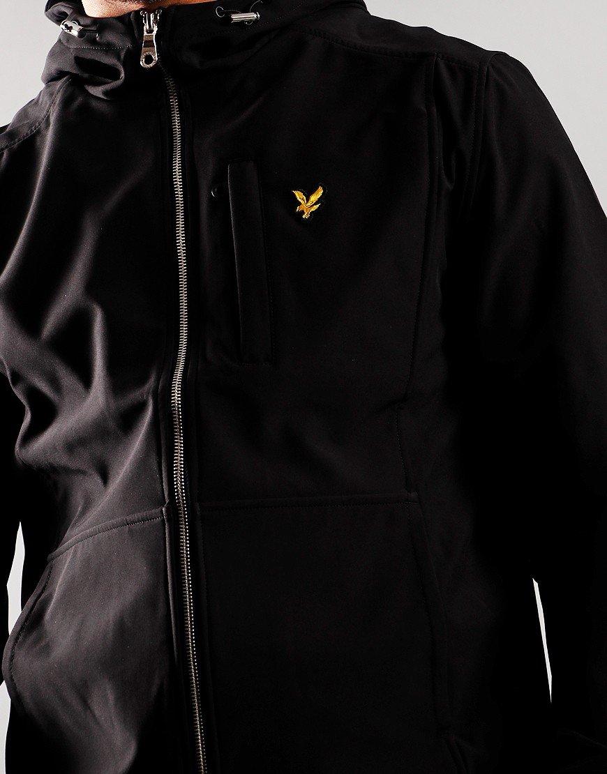 Lyle & Scott Softshell Jacket Jet Black