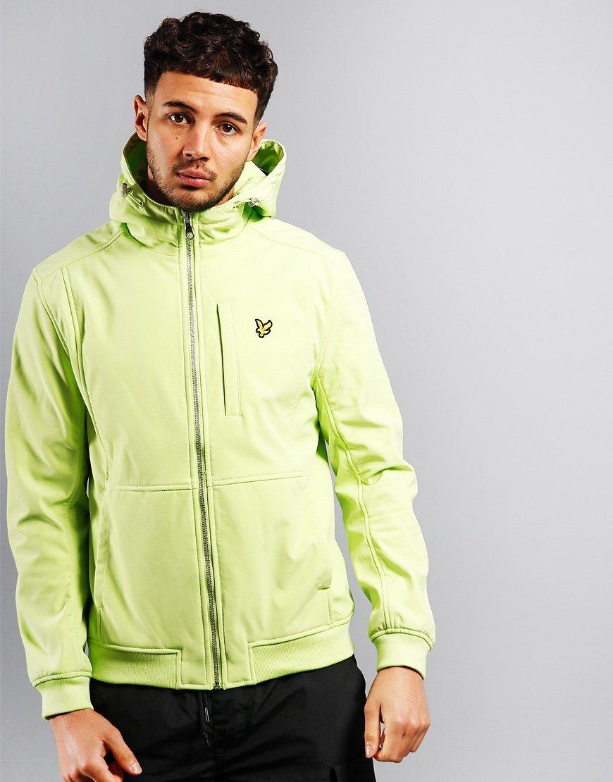 Lyle & Scott Softshell Jacket Sharp Green
