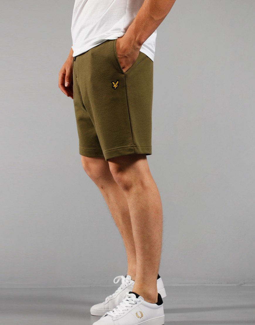 Lyle & Scott Sweat Shorts Lichen Green