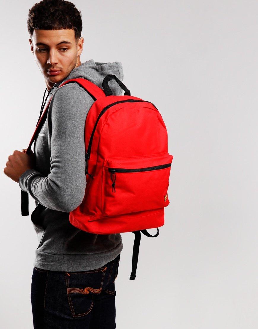 Lyle & Scott Backpack Grenadine Red