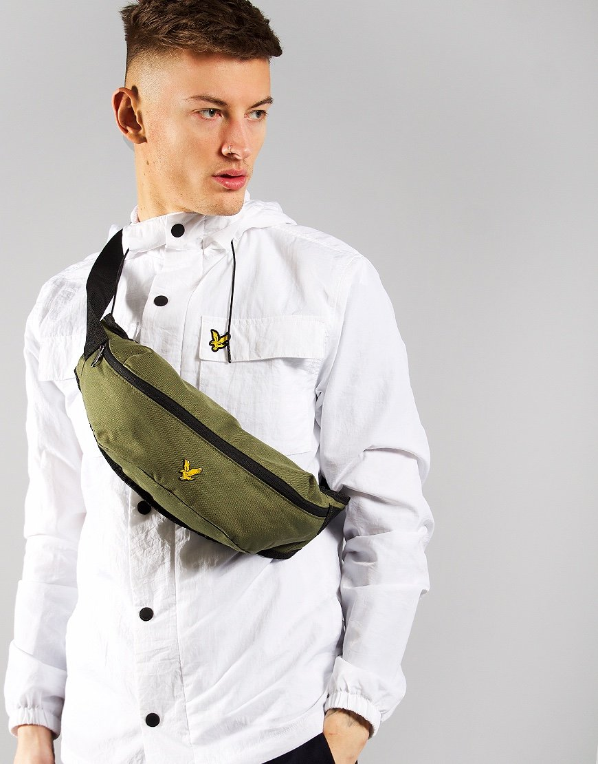 Lyle & Scott Cross Body Sling Bag Lichen Green