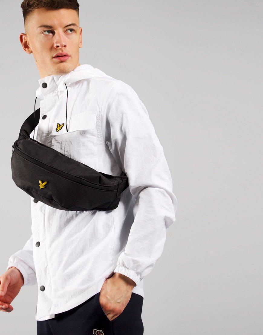 Lyle & Scott Cross Body Sling Bag True Black
