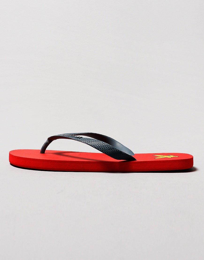 Lyle & Scott Flip Flops  Orion Blue/Gala Red