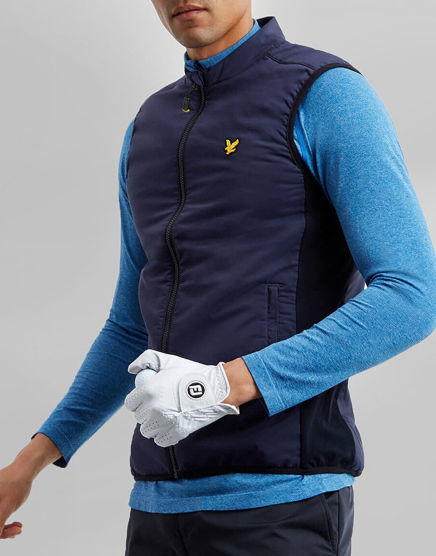 Lyle & Scott Golf Gilet Navy