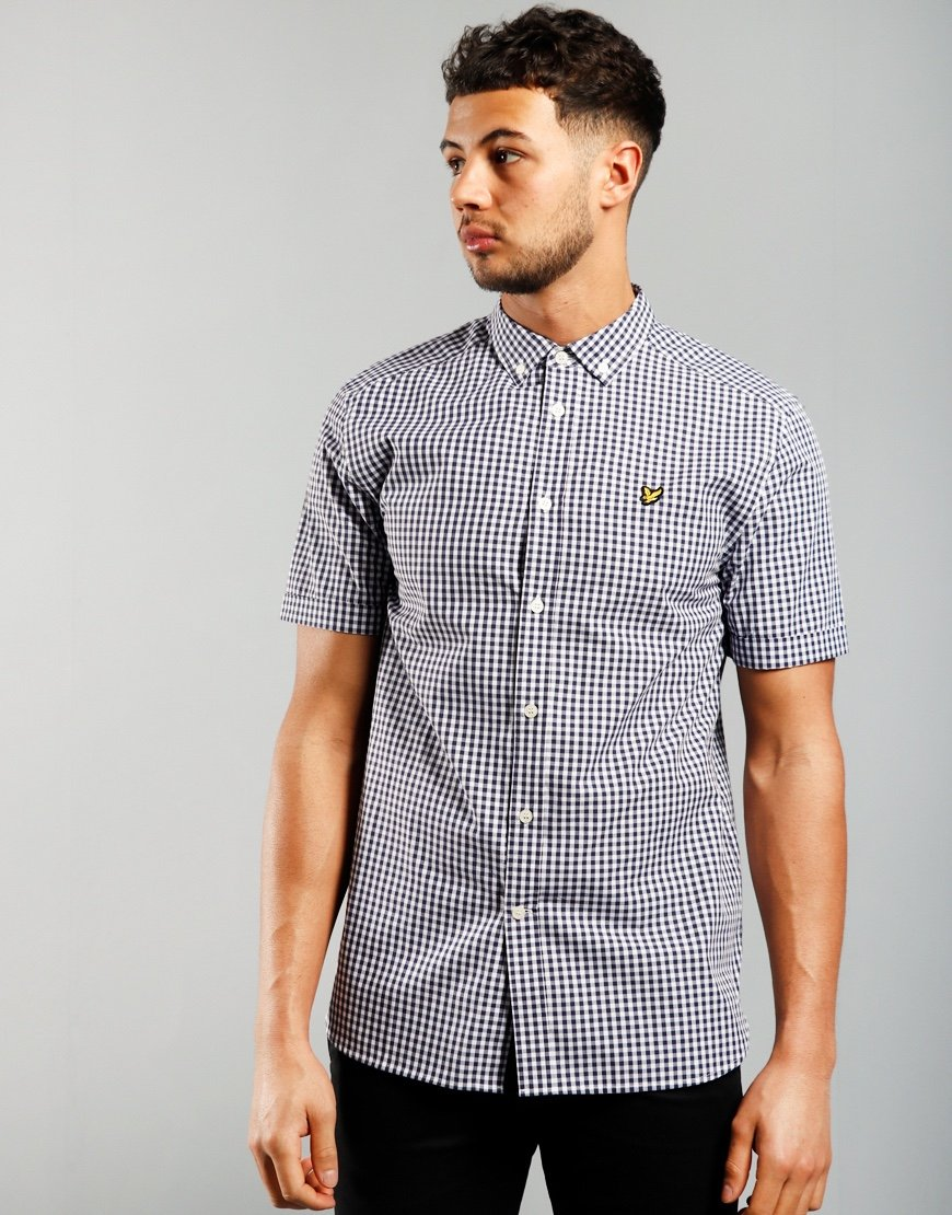 Lyle & Scott Gingham Shirt Navy