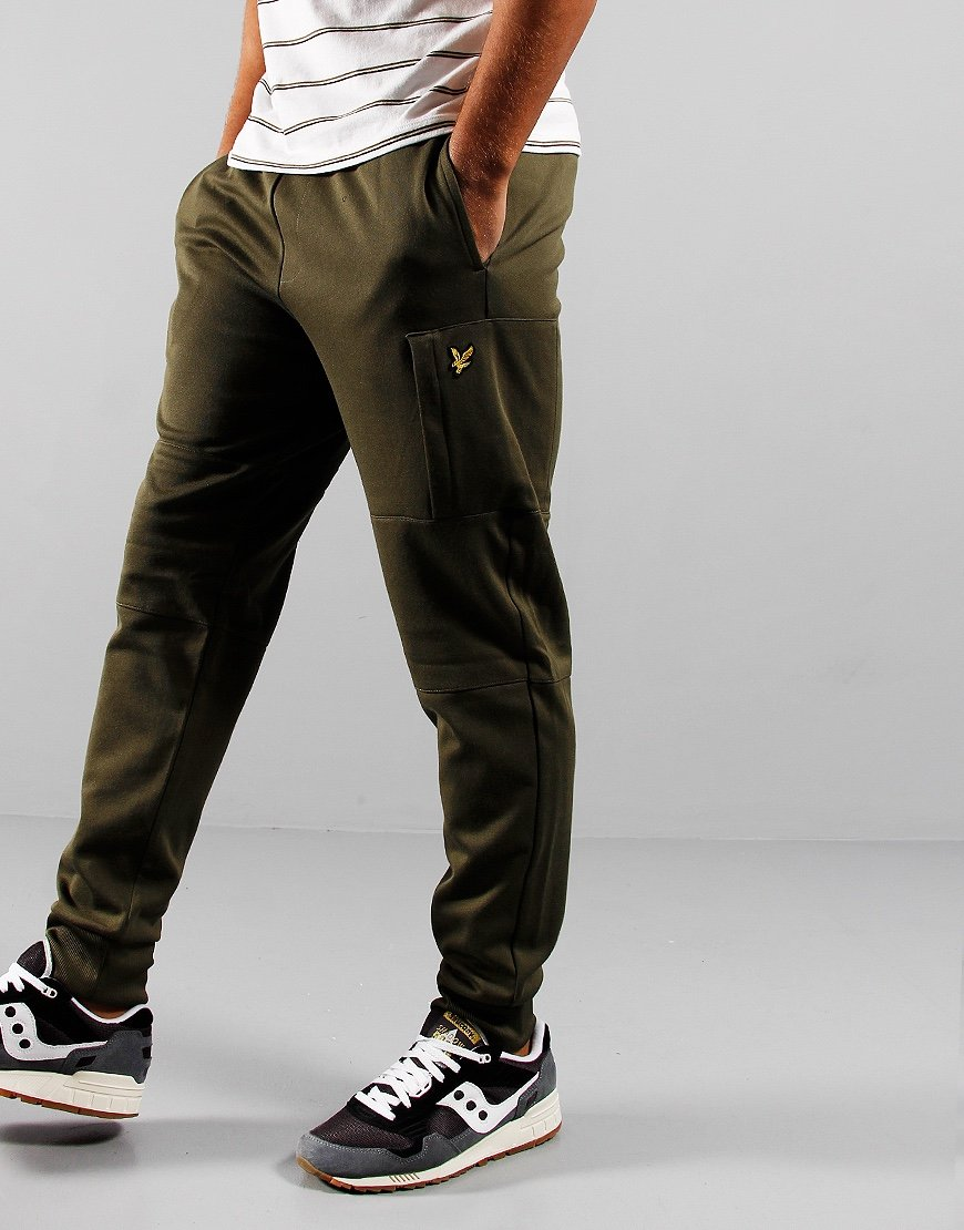 Lyle & Scott Pocket Sweat Pants Olive