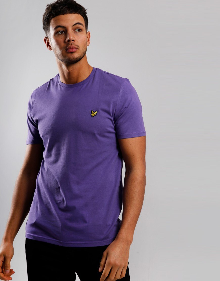 Lyle & Scott Plain T-Shirt Violet