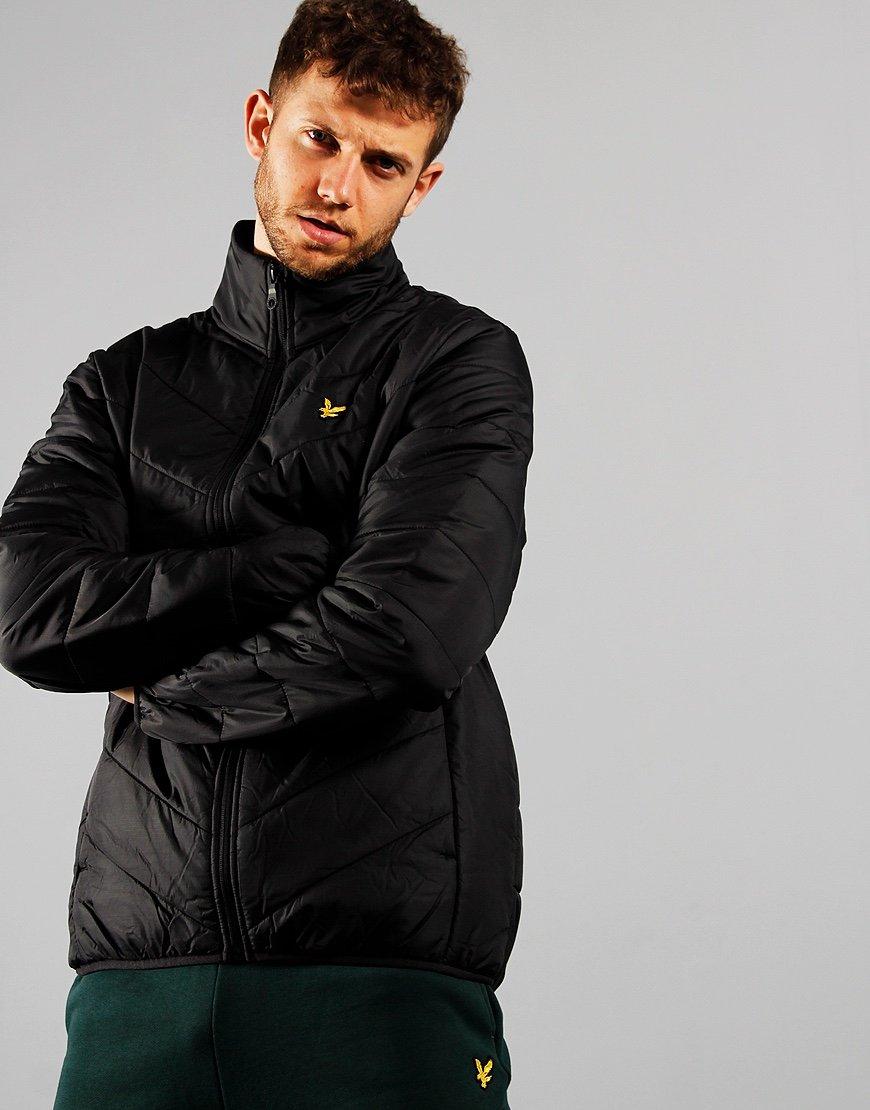 Lyle & Scott Puffer Jacket True Black