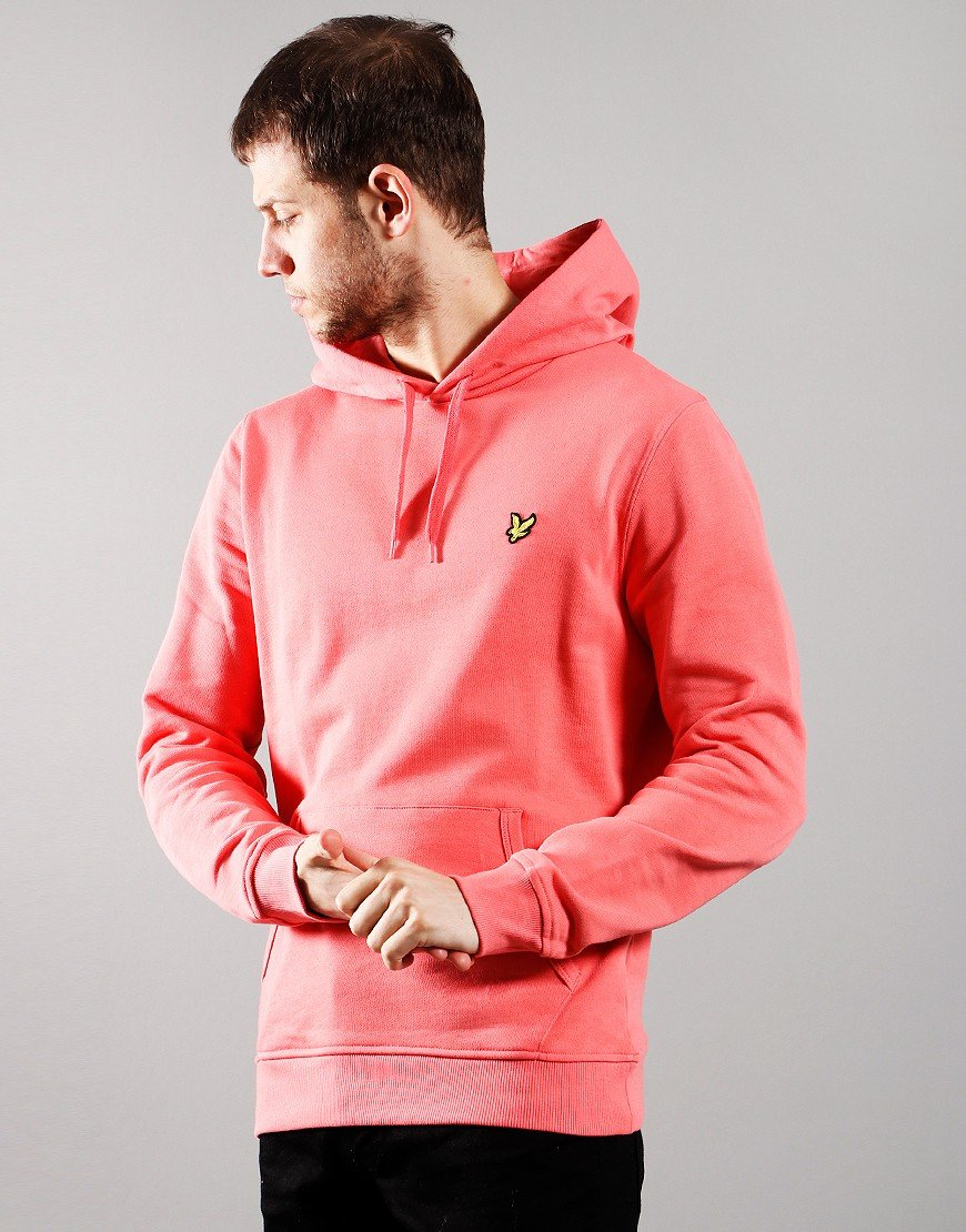 Lyle & Scott Pullover Hoody Punch Pink