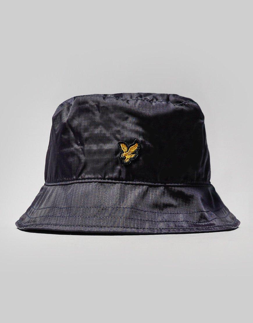 Lyle & Scott Ripstop Bucket Hat Graphite