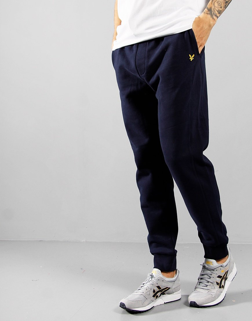 Lyle & Scott Side Panel Sweat Pants Navy