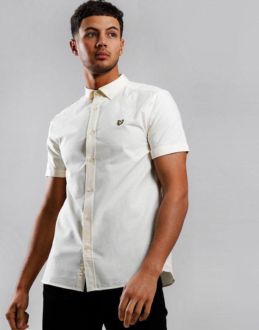 Lyle & Scott Oxford Shirt Butter Cream