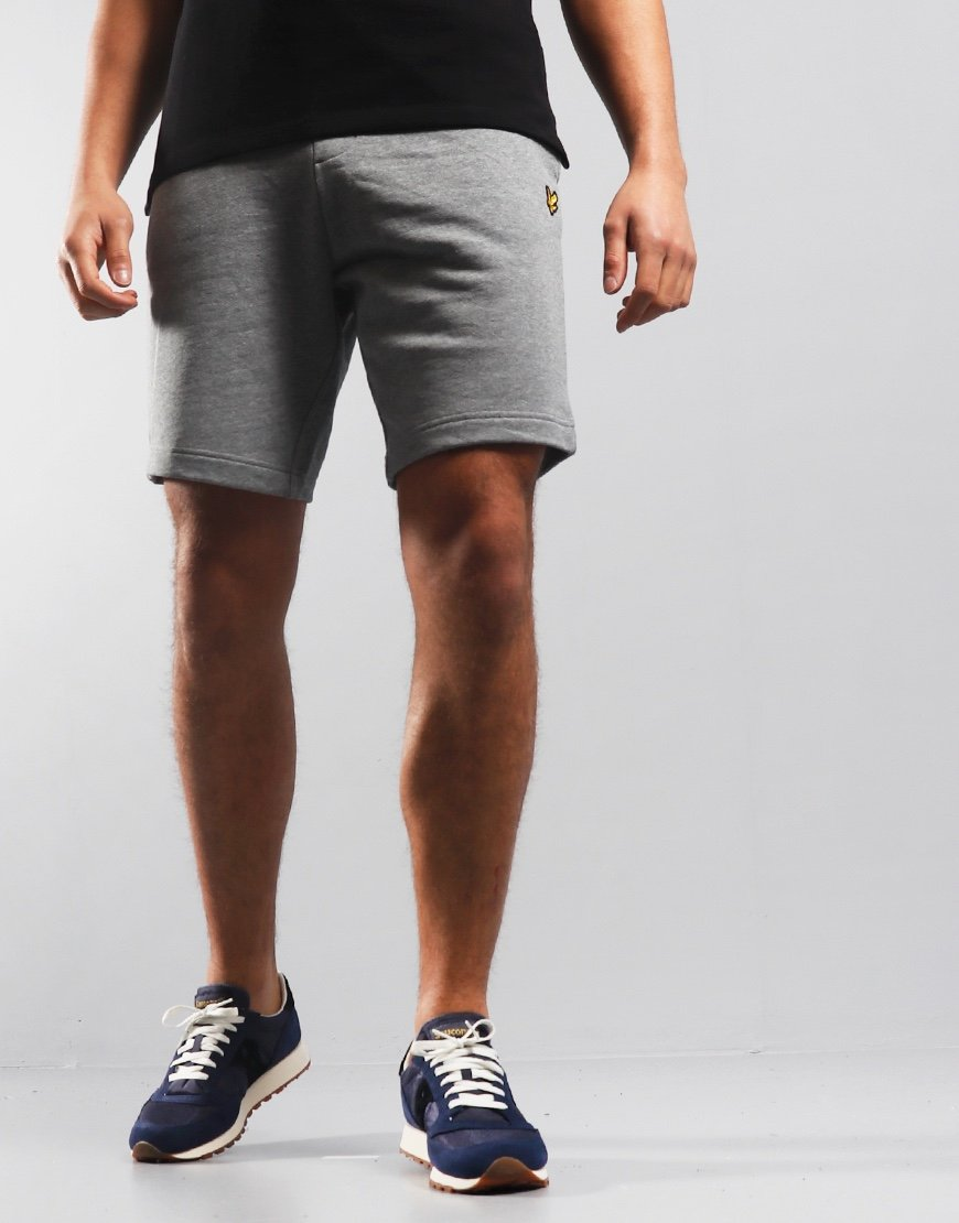 Lyle & Scott Sweat Shorts Mid Grey Marl