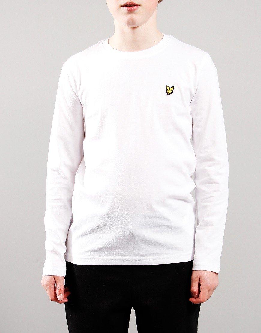 Lyle & Scott Junior Long Sleeve Classic T-Shirt White