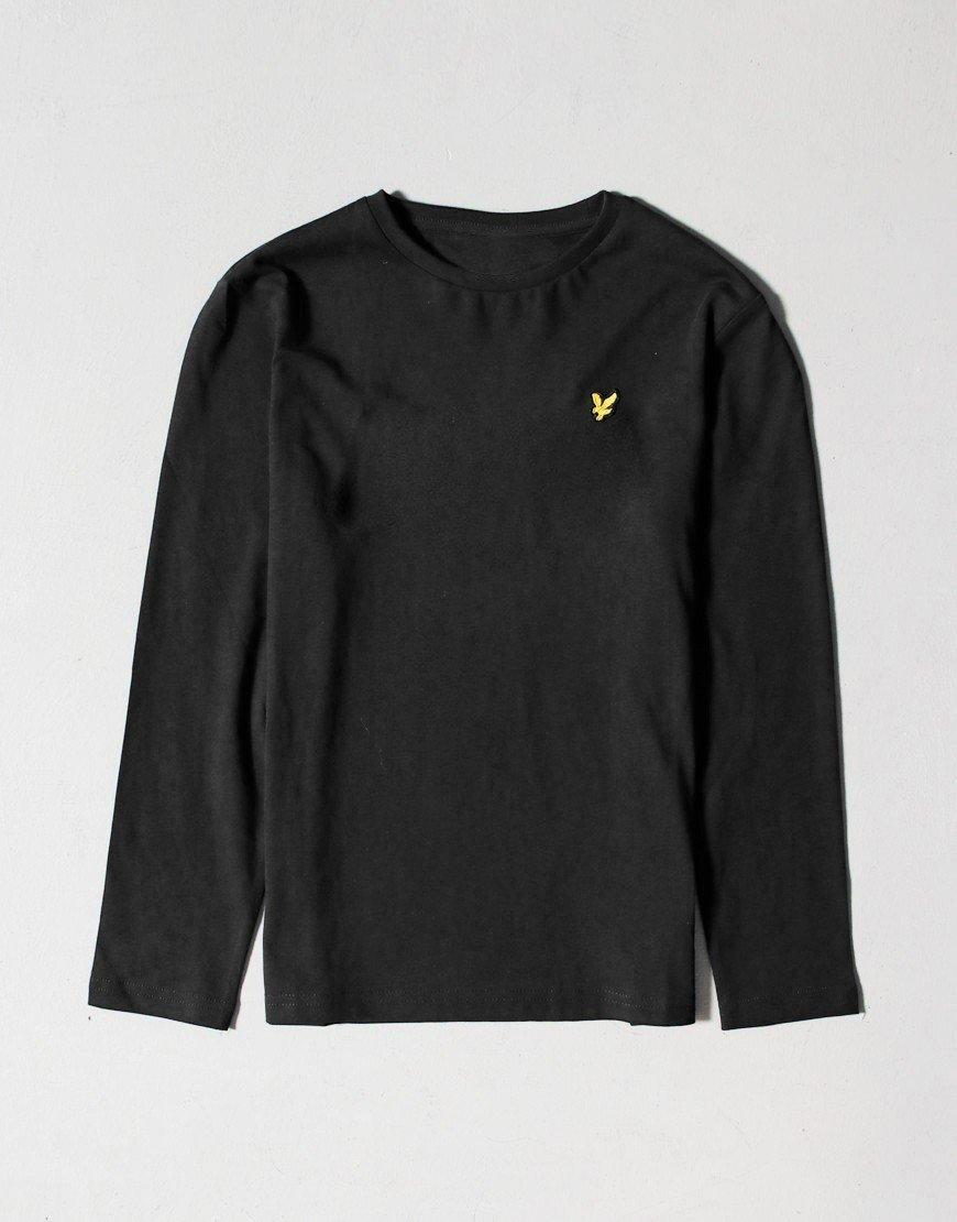 Lyle & Scott Junior Long Sleeve Classic T-Shirt Black