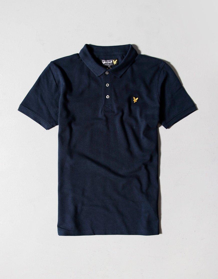 Lyle & Scott Junior Classic Polo Shirt Navy