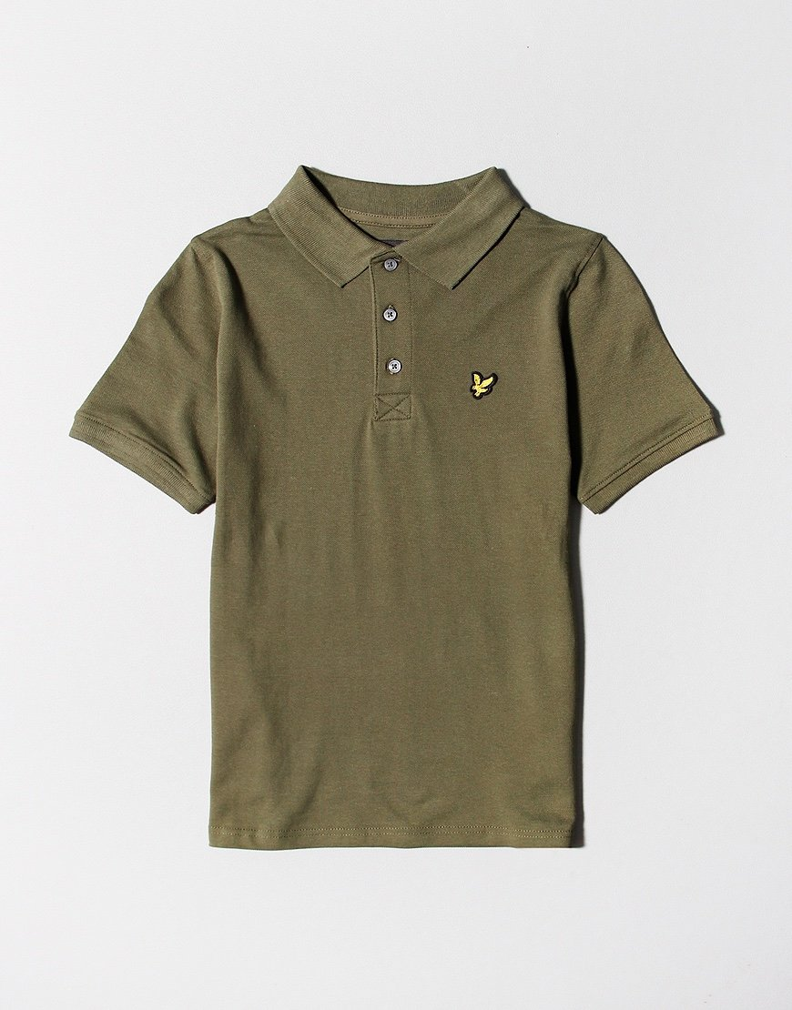 Lyle & Scott Junior Classic Polo Shirt Grape Leaf
