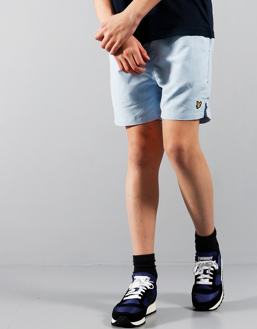 Lyle & Scott Junior Classic Swim Shorts Chambray Blue