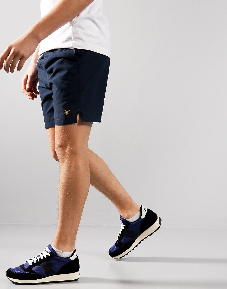 Lyle & Scott Junior Classic Swim Shorts Navy Blue