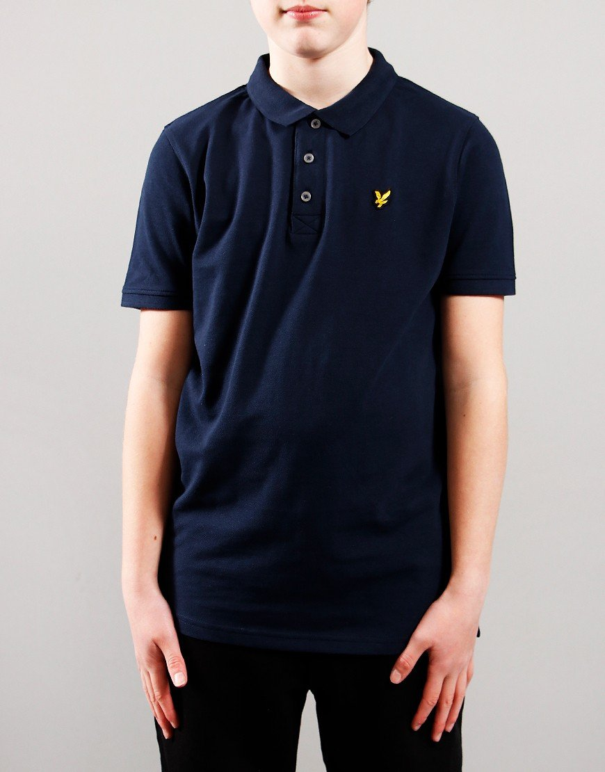 Lyle & Scott Junior Classic Polo Shirt Navy