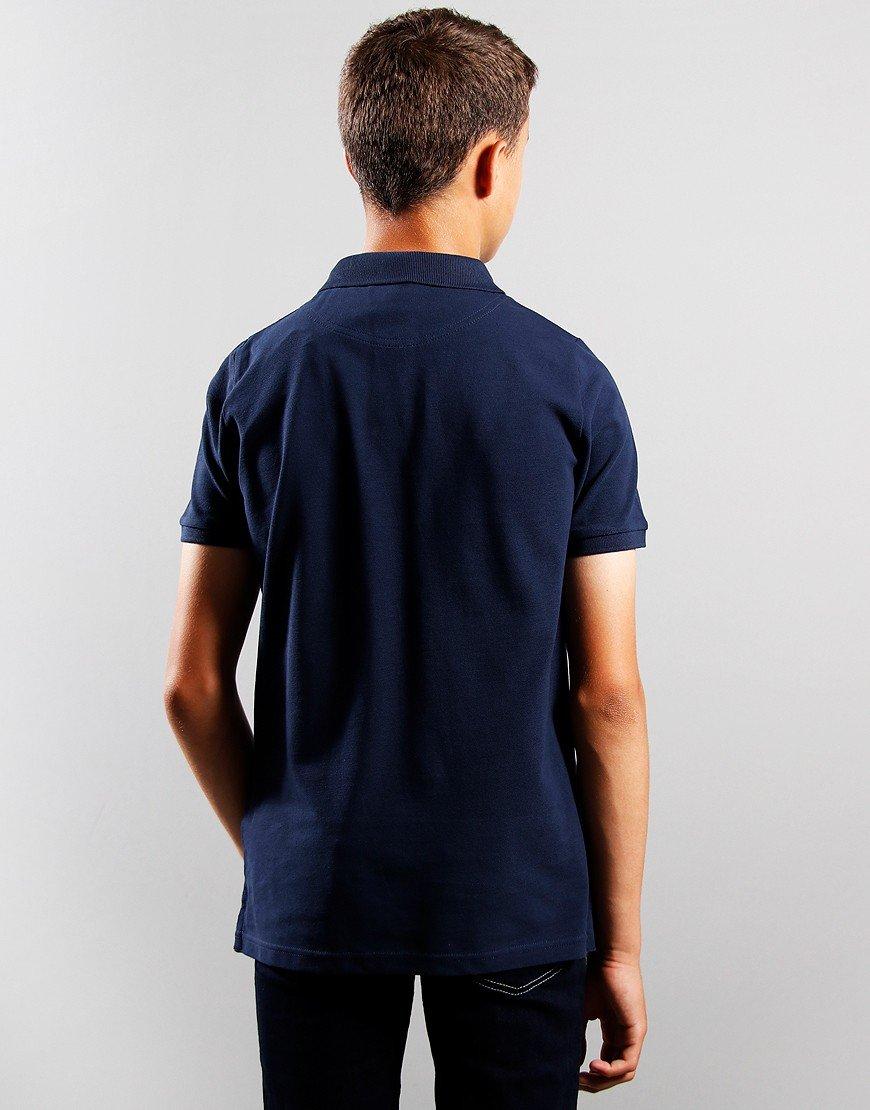 BOY/'S Lyle et Scott Junior Classic Polo Shirt Dans Bleu
