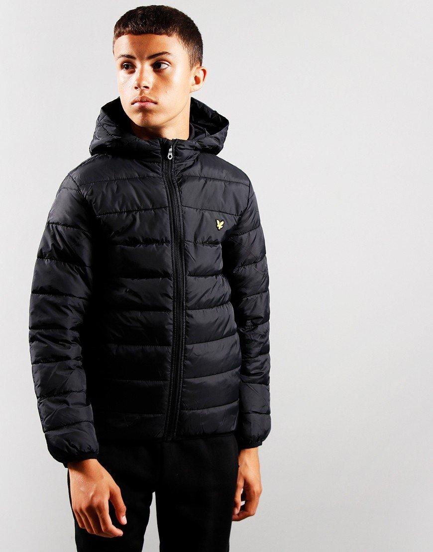 Lyle & Scott Junior Puffa Jacket Black