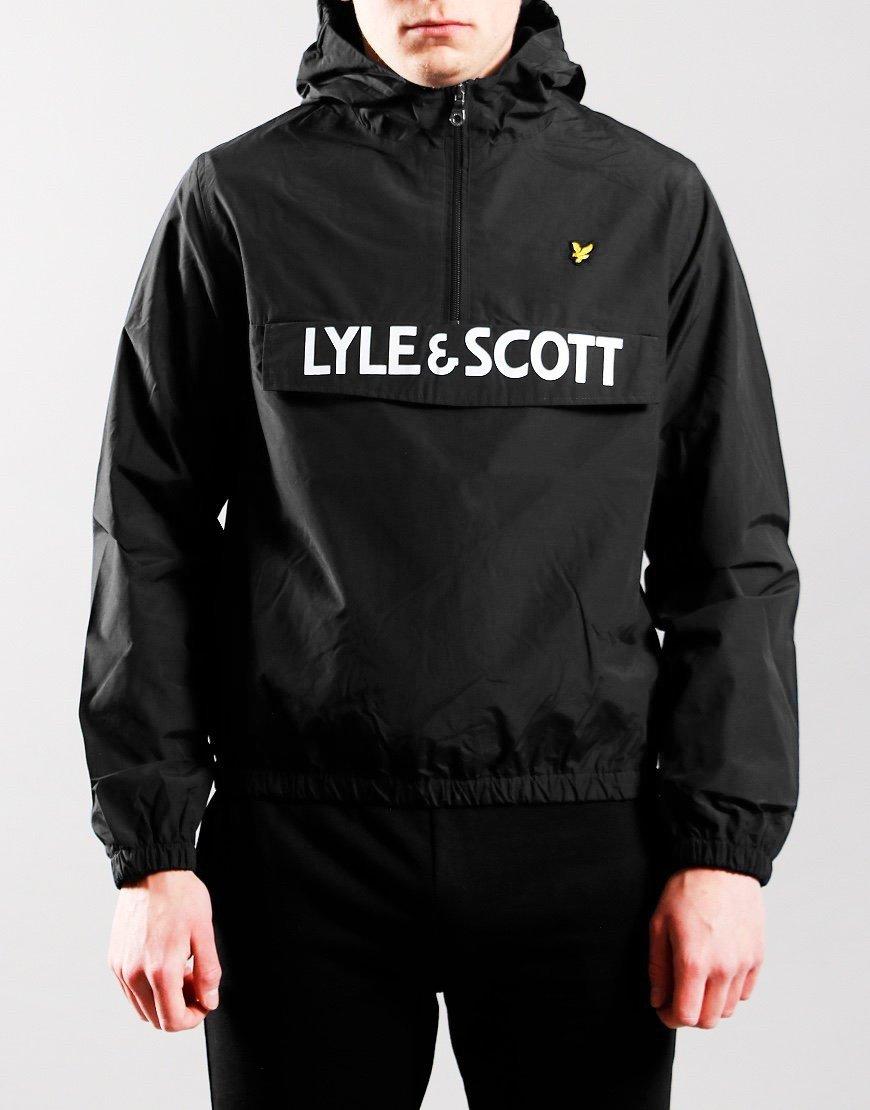 Lyle & Scott Junior Overhead Wind Jacket Black
