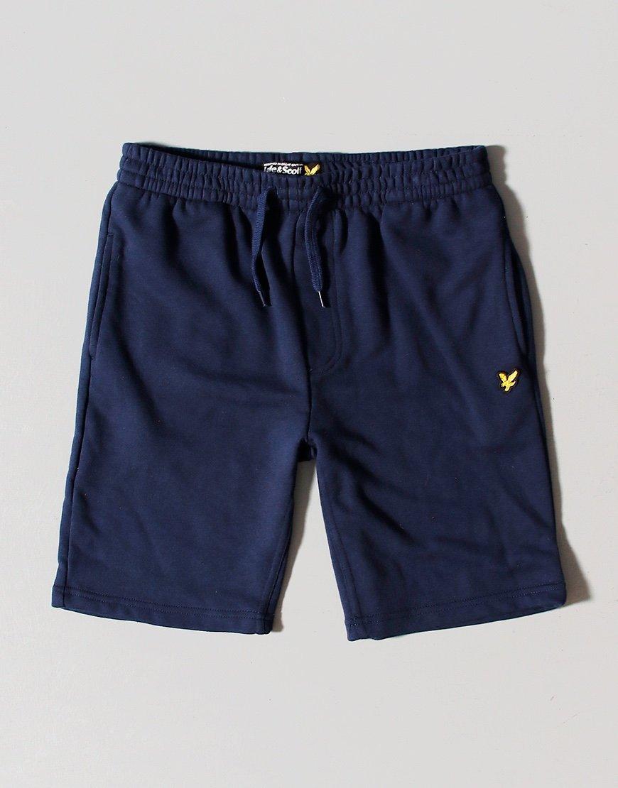 Lyle & Scott Junior Sweat Short Navy Blazer