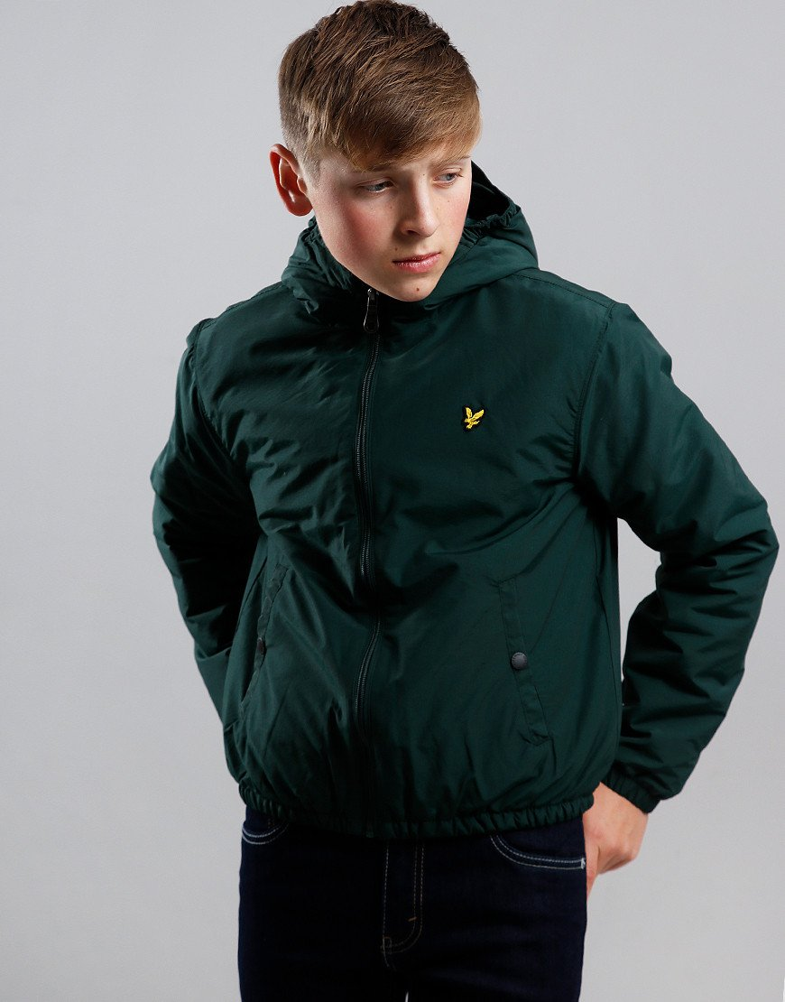 Lyle & Scott Junior Hooded Jacket Pine Grove