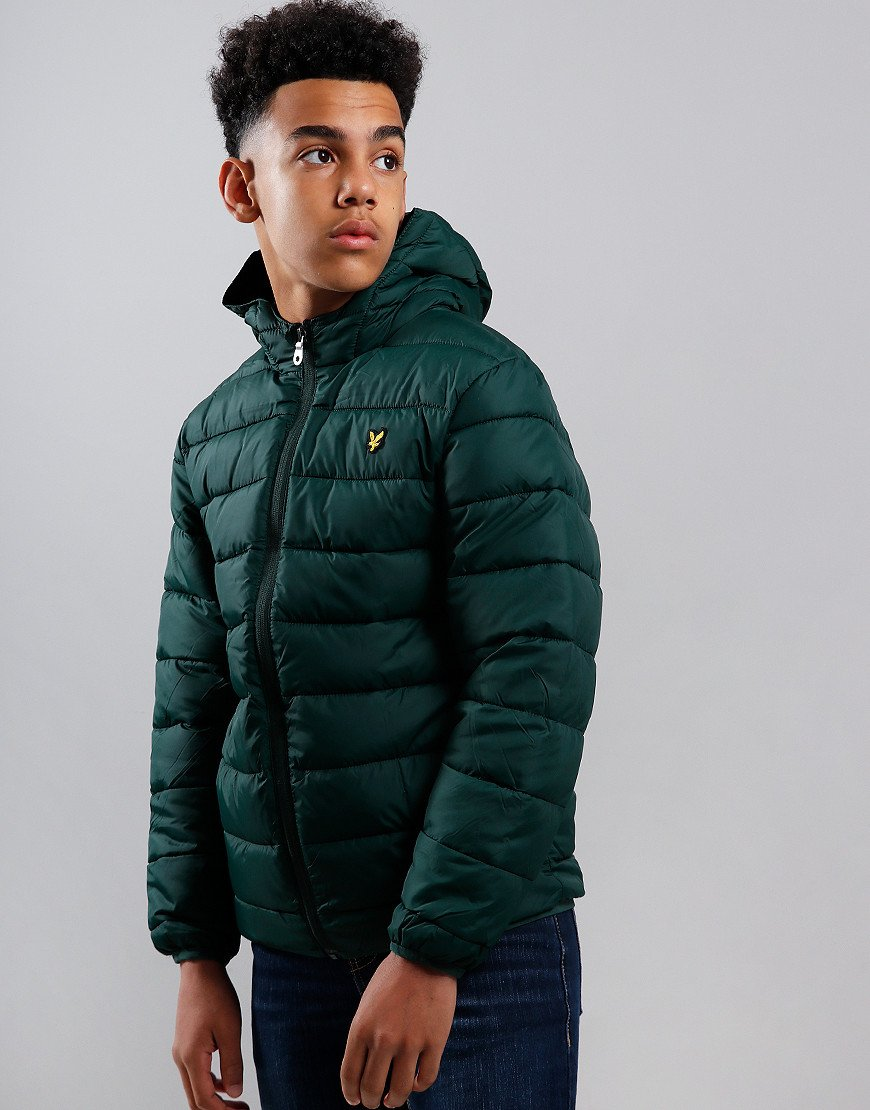 Lyle & Scott Junior Lightweight Puffer Jacket Pine Grove