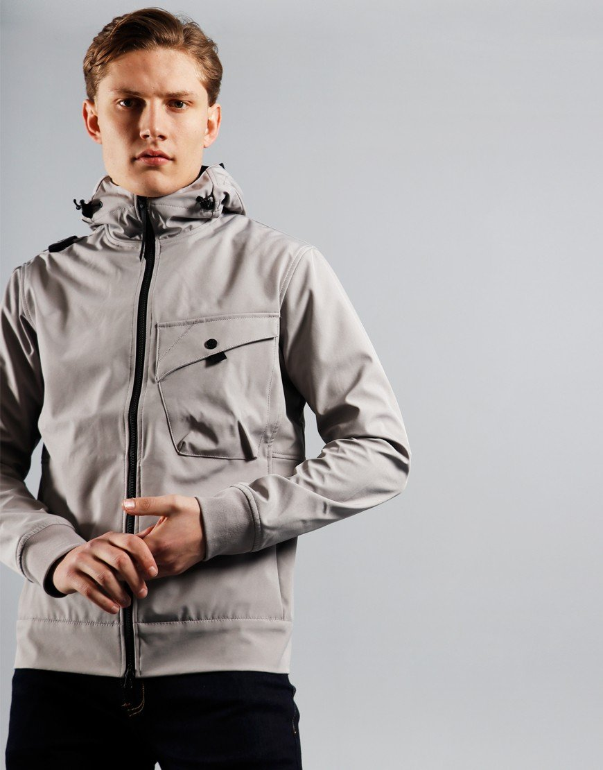MA.Strum Hooded Softshell Jacket Quicksilver