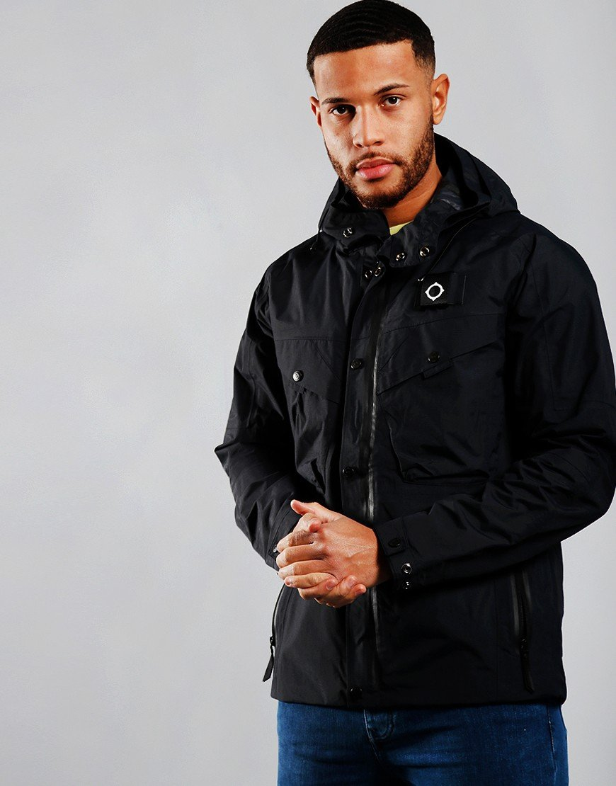 MA.Strum Hydro Nylon Rip Stop Jacket Midnight