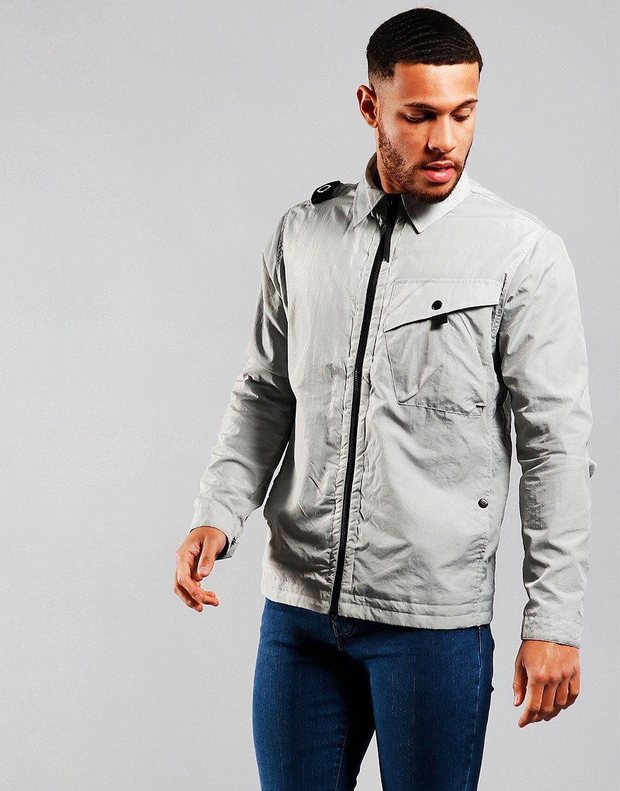 MA.Strum NT1 Nylon Taffeta Overshirt Quicksilver