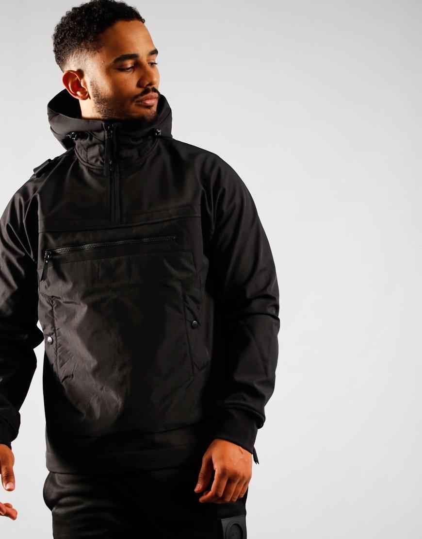 MA.Strum Overhead Softshell Jacket Jet Black